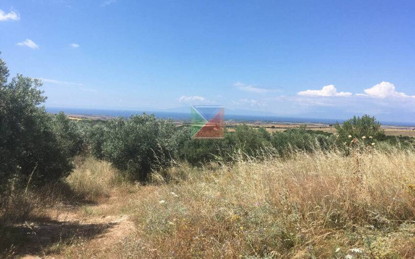 Parcel with panorama sea view